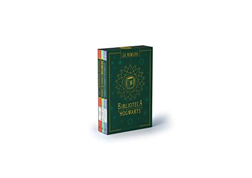 Biblioteca Hogwarts (edición pack): Animales fantásticos y dónde encontrarlos   Quidditch a través de los tiempos   Los cuentos de Beedle el bardo: 504002 (Harry Potter)