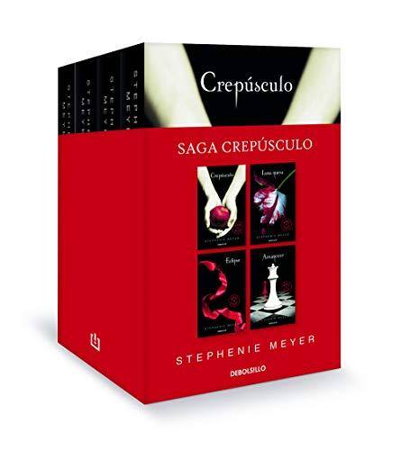 Saga Crepúsculo (edición pack con: Crepúsculo | Luna nueva | Eclipse | Amanecer): 26200 (Best Seller)
