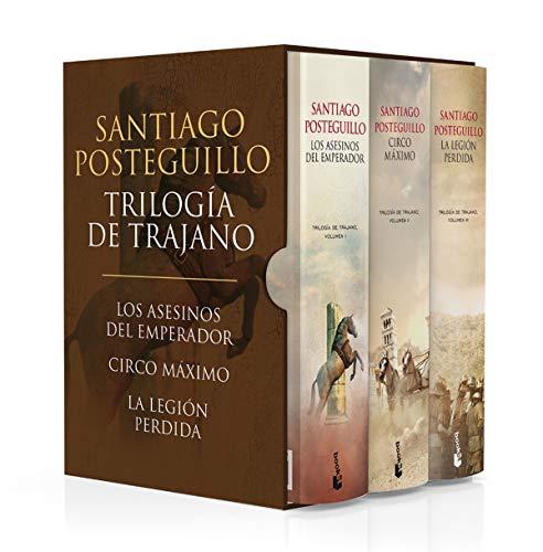Estuche Trilogía de Trajano (Novela histórica)