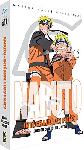 Naruto : Intégrale des Films (11 Films) [Francia] [Blu-ray]