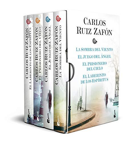 Estuche Tetralogía La Sombra del Viento (Biblioteca Carlos Ruiz Zafón)
