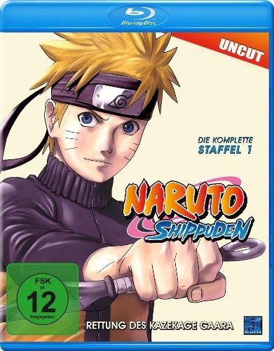 Naruto Shippuden - Staffel 1: Rettung des Kazekage Gaara (Uncut) [Blu-ray] [Alemania]
