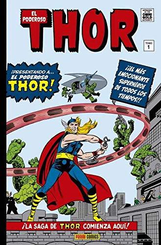 El poderoso Thor 1. La saga comienza: LA SAGA DE THOR COMIENZA AQUÍ (MARVEL GOLD OMNIBUS)
