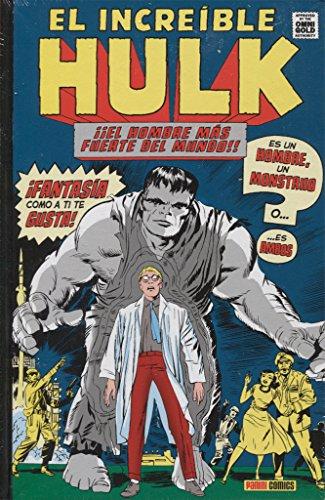 El increíble Hulk 1. Es un hombre, un monstruo: ¡¡EL HOMBRE MÁS FUERTE DEL MUNDO!! (MARVEL OMNIBUS)