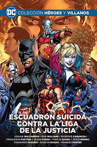Colección Héroes y Villanos Vol. 10 - Escuadrón Suicida Contra La Liga De La Justicia