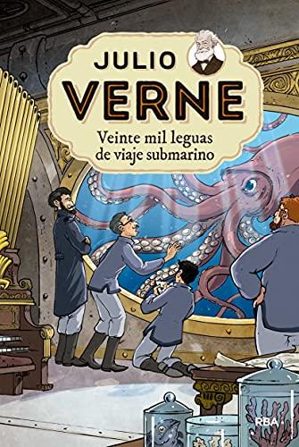 Julio Verne 4. Veinte mil leguas de viaje submarino: 004 (Inolvidables)