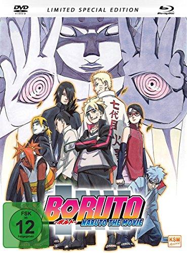Boruto - Naruto The Movie (2015) Mediabook [DVD+ BD mit integriertem Booklet + Bonus Postkarte] [Alemania] [Blu-ray]