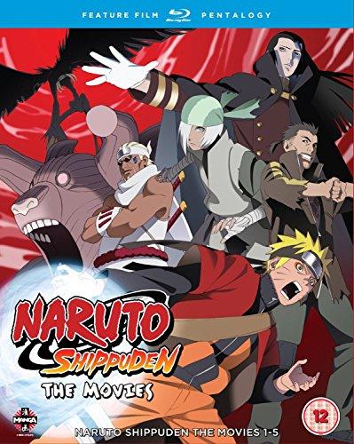 Naruto - Shippuden Movie Pentalogy [Blu-ray] [Reino Unido]
