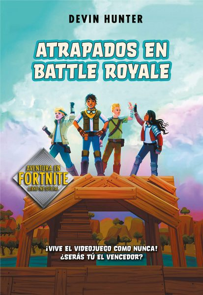 fornite, Atrapados en Battle Royale, libros de fortnite