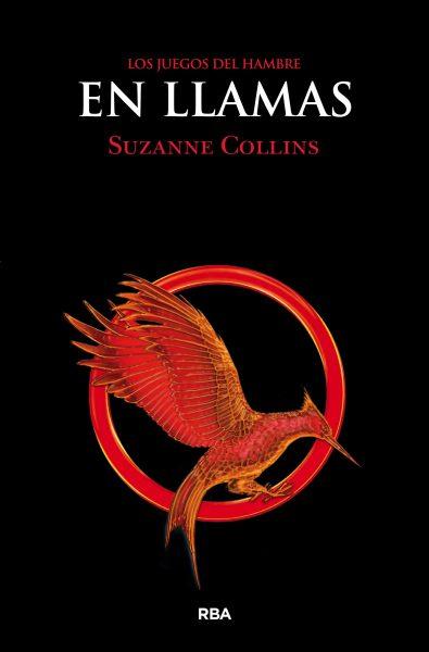 Libro Los Juegos del hambre 2. En llamas, portada, Suzanne Collins