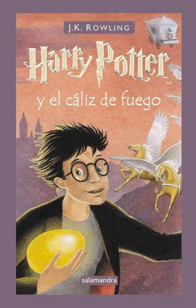 Harry Potter y el cáliz de fuego libro