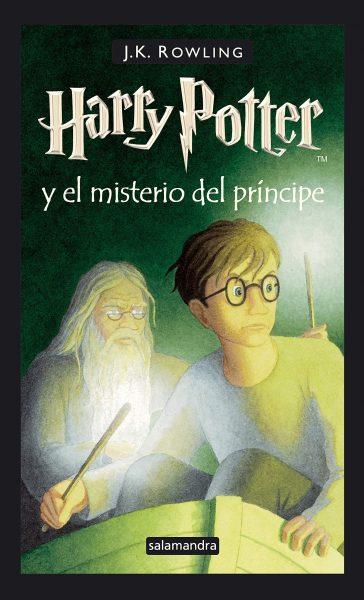 Harry Potter y el misterio del príncipe libro