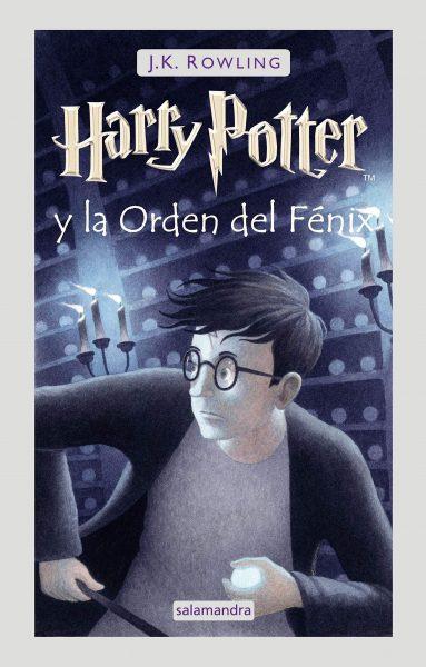 Harry Potter y la orden del Fénix libro