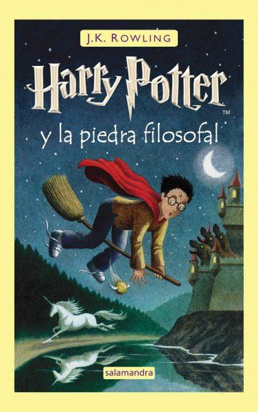 Harry Potter y la piedra filosofal libro