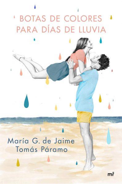 Botas de colores para días de lluvia, libro