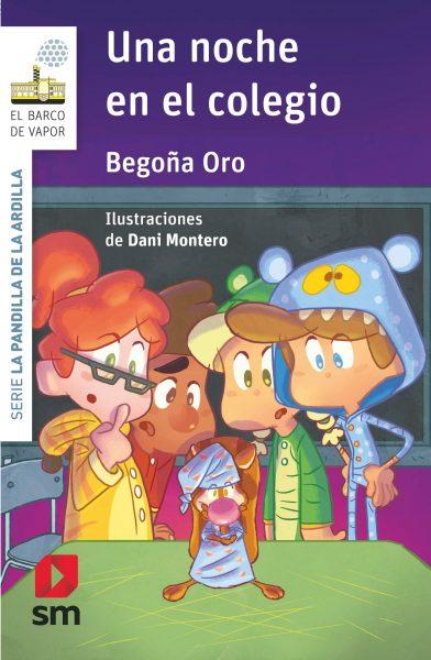 Una noche en el colegio, libro infantil