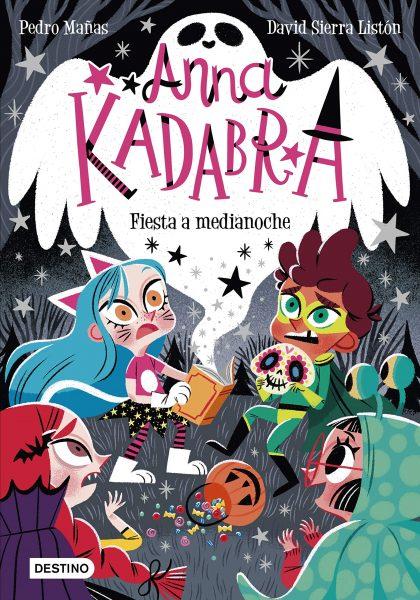 Anna Kadabra, Fiesta a medianoche, libro, cuento infantil, halloween cuento para niños