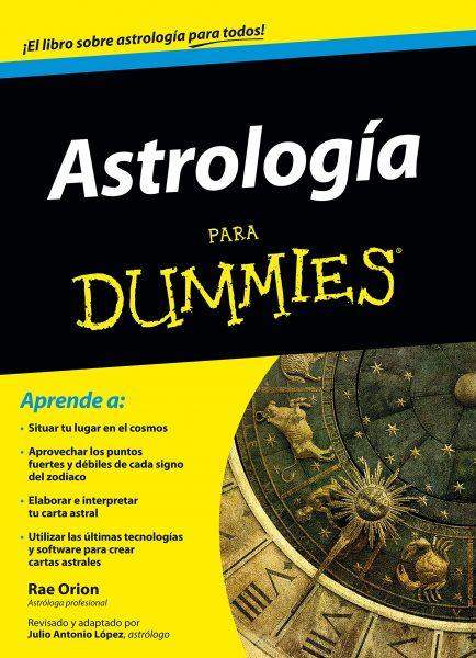 Libro de Astrología para Dummies, comprar libro, aprender astrología