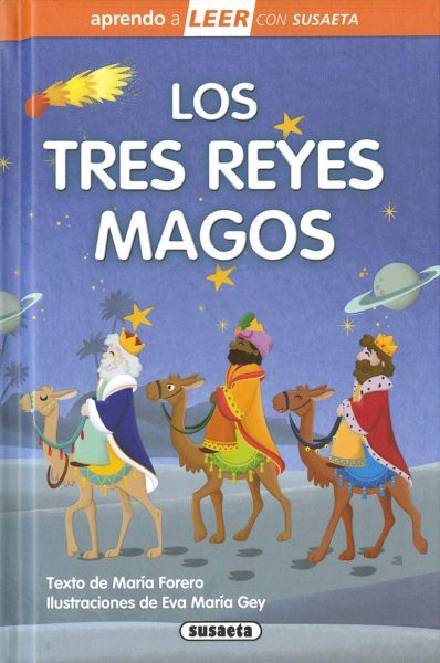 Los tres Reyes Magos libro infantil
