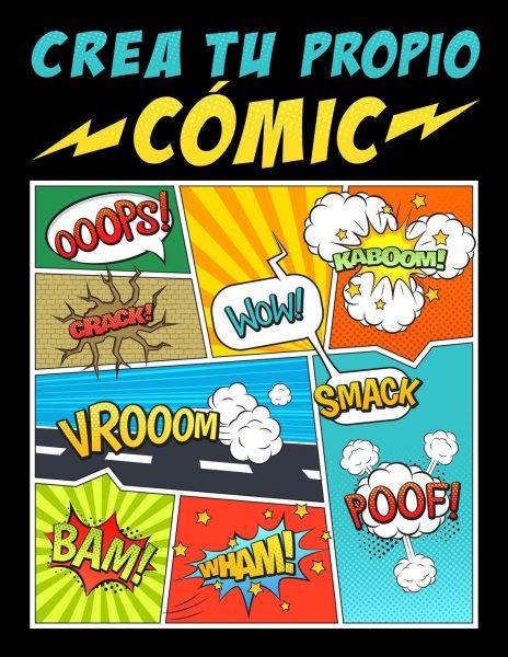 Crea tu propio comic, libro