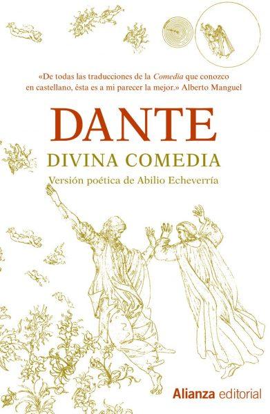 La divina comedia, portada del libro de Dante, uno de los mejores libros de todos los tiempos