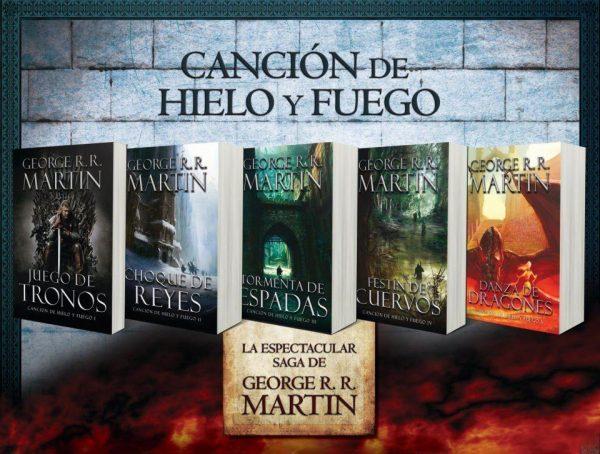 Saga libros de Juego de Tronos