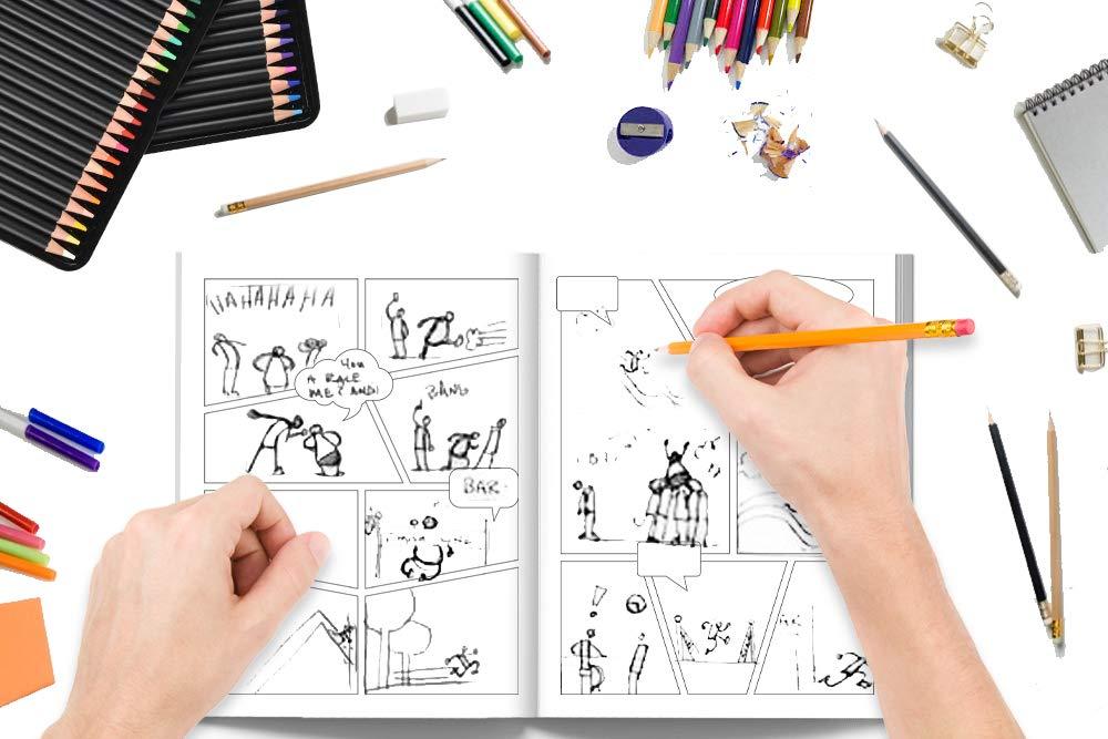 Comic lienzo crea tu propio comic, cuento o historia
