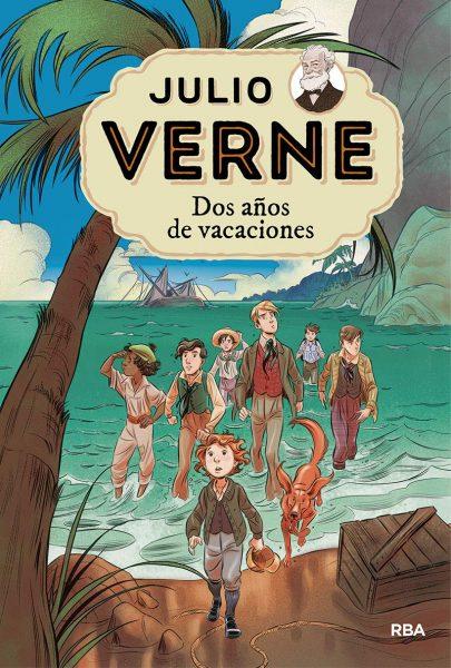 Dos años de vacaciones, novela de Julio Verne