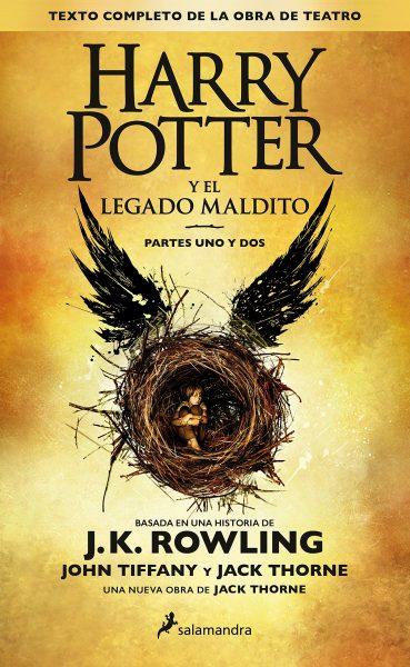 Harry Potter y el legado maldito, libro de J.K.Rowling