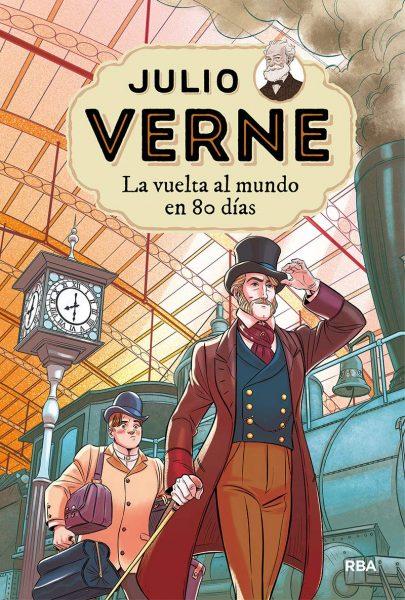 La vuelta al mundo en 80 dias, Libro de Julio Verne