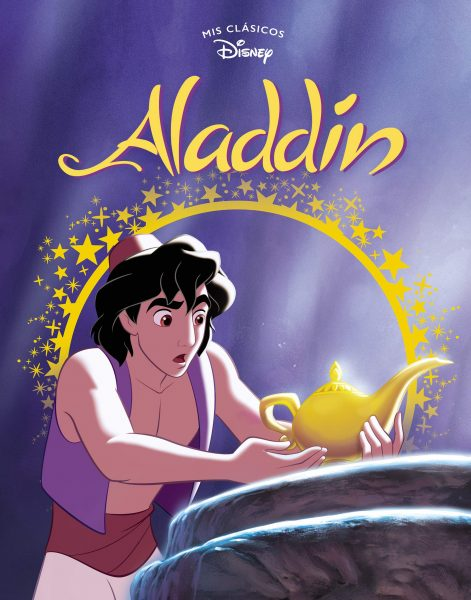 Aladdin, libro ilustrado mis classicos Disney