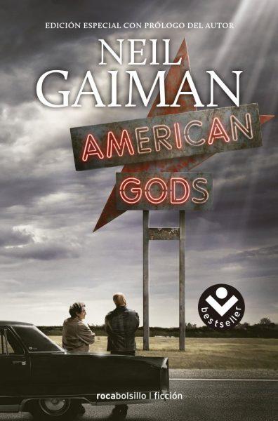American Gods, libro novela de Neil Gaiman