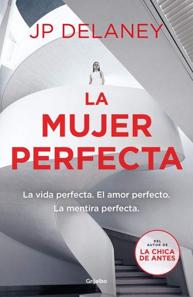 La mujer perfecta, libro novela negra de  J.P Delaney