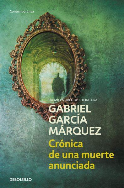 Crónica de una muerte anunciada, libro novela de Gabriel García Márquez, portada