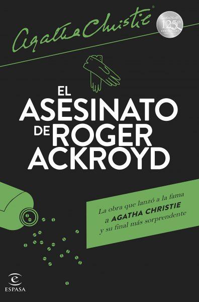 El Asesinato de Roger Acroyd, novela de Agatha Christie