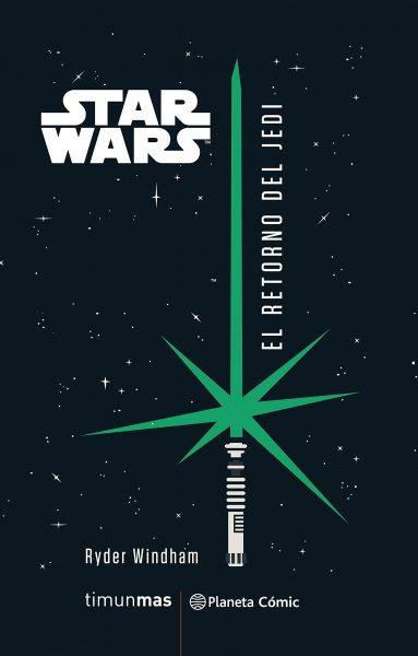 Star Wars El Retorno del Jedi, novela, portada