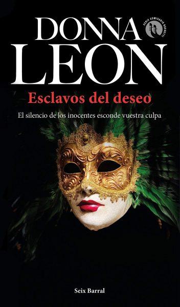 Esclavos del deseo, libro novela de Donna Leon