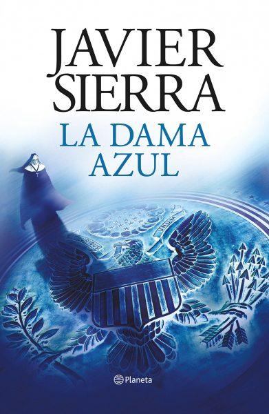 La dama Azul, libro novela de Javier Sierra, Portada