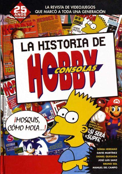 Libro de la historia de Hobby Consolas
