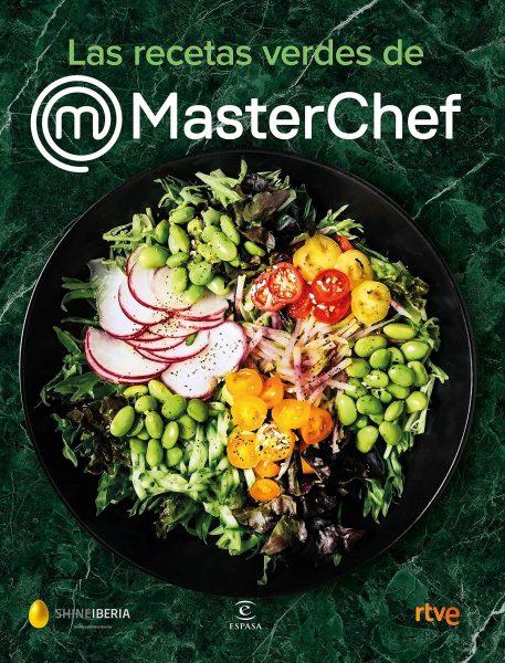 Las recetas verdes de MasterChef, libro de cocina y recetas sanas