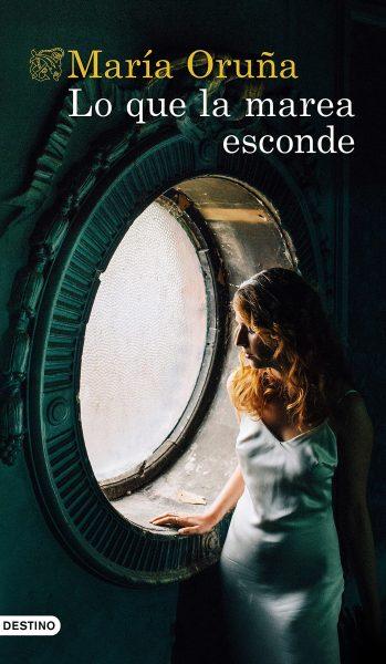 Lo que la marea esconde, libro de María Oruña, Portada
