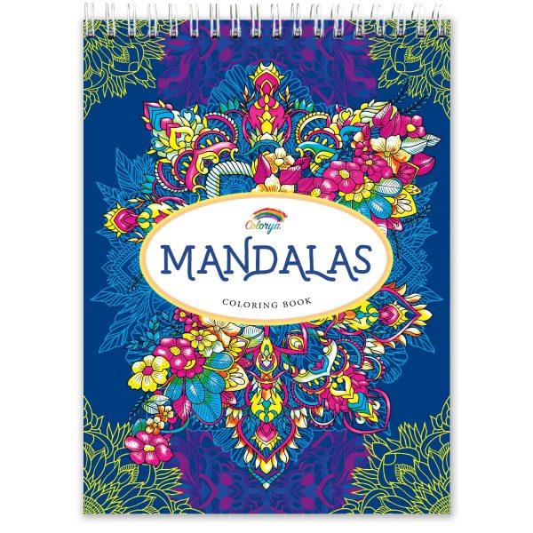 Libro de Mándalas para colorear