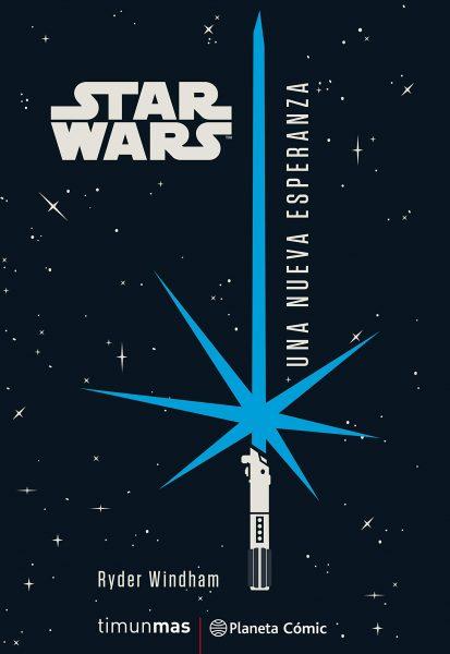 Star Wars, Una nueva esperanza, libro novela de la película.