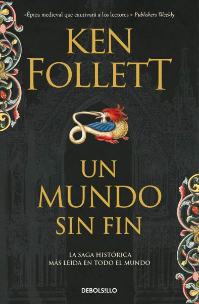 Un Mundo Sin fin, libro de Ken Follet, Saga Los Pilares de la Tierra 2.