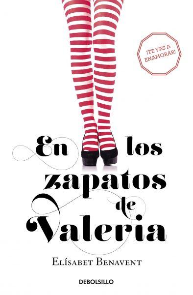 En los zapatos de Valeria, libro novela de Elisabet Benavent